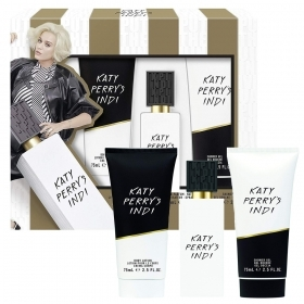 KATY PERRY'S INDI SET PROFUMO DONNA EDP EAU DE PARFUM 30ML CREMA CORPO 75ML E GEL DOCCIA 75 ML