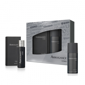 ARROGANCE UOMO SET PROFUMO EDT