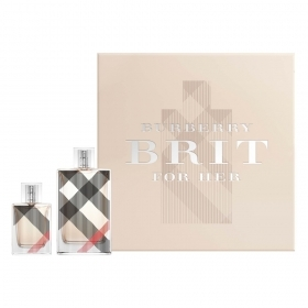 BURBERRY BRIT FOR HER SET PROFUMO DONNA EDP EAU DE PARFUM 100ML EDP 30ML