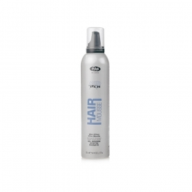 Lisap High Tech Gel Mousse Effetto Bagnato Con Aminoacidi Da Grano 300 Ml