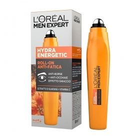 L'Oreal Men Expert Hydra Energetic Roll On Anti Borse Anti Occhiaie 10 Ml