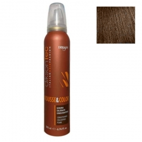 Dikson Schiuma Per Capelli Colorata Castano  200 Ml Mousse