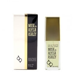Alyssa Ashley Musk Profumo Unisex Edt Eau De Toilette Spray 50 Ml