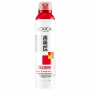 L'Oreal Studio Line Fix E Shine Spray Fissante 24H Fissaggio Iperforte 300 Ml