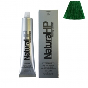 Natural Hp Tecgnology Cosmetics Colore Per Capelli Con Aloe Vera Gel Alle Erbe Verde 100Ml