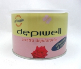 DEPIWELL CERETTA DEPILATORIA LIPOSOLUBILE AL BIOSSIDO DI TITANIO 400 ml