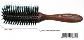 GUENZANI SPAZZOLA PROFESSIONALE IN NYLON EXTRA PER EXTENCTION n. 496