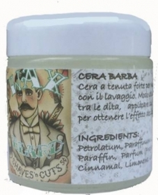 WAX BEARD CREMA BARBA 75ML SUS