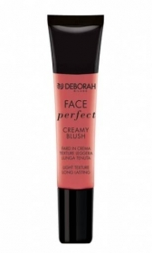DEBORAH FACE PERFECT CREAMY BLUSH FARD IN CREMA TEXTURE LEGGERA 15ml 05 CHERRY