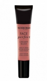 DEBORAH FACE PERFECT CREAMY BLUSH FARD IN CREMA TEXTURE LEGGERA 15ml 03 ROSE