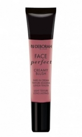 DEBORAH FACE PERFECT CREAMY BLUSH FARD IN CREMA TEXTURE LEGGERA 15ml 04 MAUVE