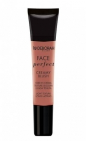 DEBORAH FACE PERFECT CREAMY BLUSH FARD IN CREMA TEXTURE LEGGERA 15ml 02 PEACH