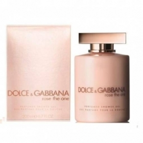 DOLCE E GABBANA ROSE THE ONE PERFUMED SHOWER GEL BAGNOSCHIUMA DONNA 200 ML